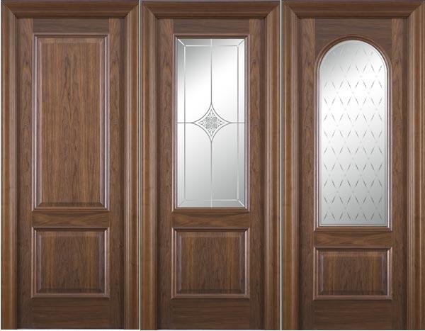 Межкомнатные двери из шпона натурального