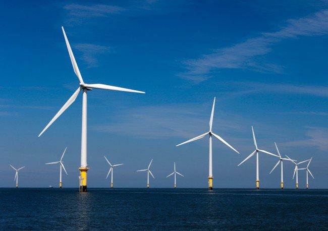 В Северном море построят огромную ветряную электростанцию