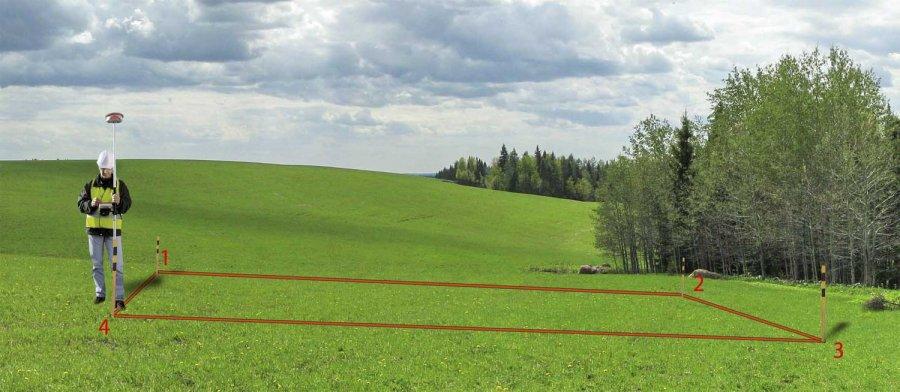 Установление границ земельных участков